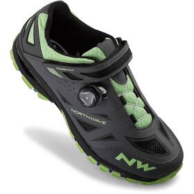 Northwave Spider Plus 2 Shoes Herren anthra/green